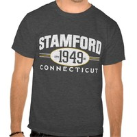 STAMFORD CONNECTICUT 1949 CITY INCORPORATED TEE