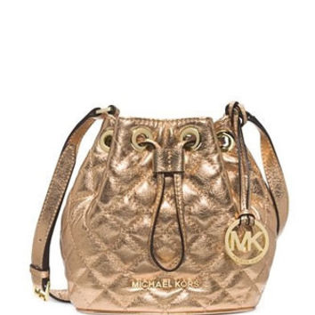 Michael Michael Kors Jules Small Quilted Leather Crossbody