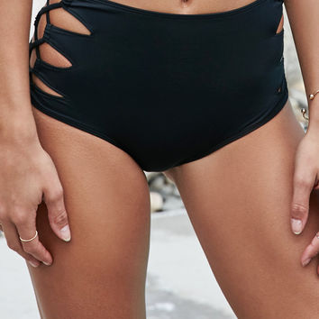 Kendall and Kylie Loop Side High Waisted Bikini Bottom at PacSun.com 7146c158e
