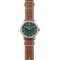 Shinola The Runwell 40mm With NATO Strap at Barneys New York at Barneys.com