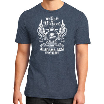 Alabama am university District T-Shirt (on man)