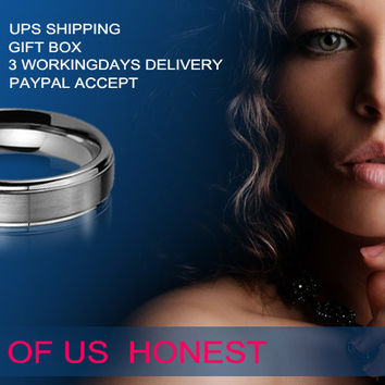 Tungsten Rings - Men's Tungsten Carbide Rings,Titanium Rings,Tungsten Wedding Bands