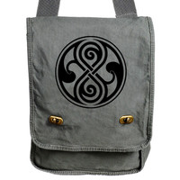 Seal of Rassilon Doctor Who Inspired Messenger Field Bag