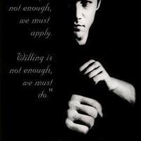 "Bruce Lee (Quotes) Poster Print - 24"" X 36"" Poster Print, 35x23"