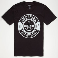 Imperial Motion Nameplate Mens T-Shirt Black  In Sizes