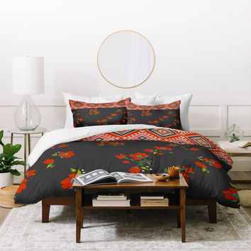 Holli Zollinger Bohemian Farmhouse Duvet Cover
