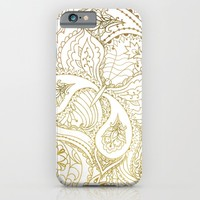 Flower Butterfly - for iphone iPhone & iPod Case by Simone Morana Cyla