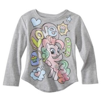 My Little Pony™ Infant Toddler Girls' Long-sleeve Tee - Grey Heather