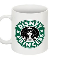 Disney Princess Starbucks Mug Ariel Little Mermaid 11oz. Made to Order