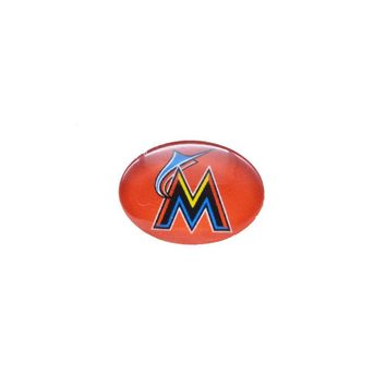 Snap Button 18mmX25mm MLB Florida Marlins Charms Snaps Bracelet for Women Men Baseball Fans Gift Paty Birthday 2017