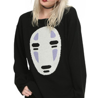 Studio Ghibli Her Universe Spirited Away No-Face Girls Sweater