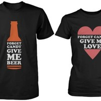 Beer and Love Couple Matching Shirts - 365 Printing Inc