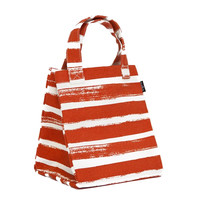 Stripes Tangerine Lunch Tote