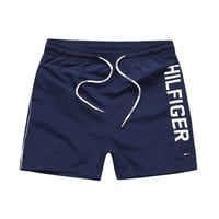 Tommy Hilfiger Fashion Drawstring Leisure Sports Shorts