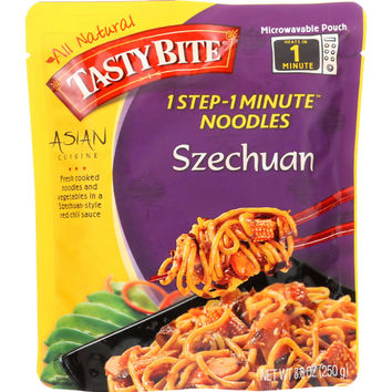 Tasty Bite Noodles - Asian - Szechuan - 8.8 oz - case of 6