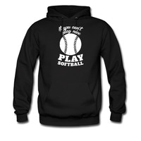 If You Cant Play Nice Play Softball hoodie sweatshirt tshirt