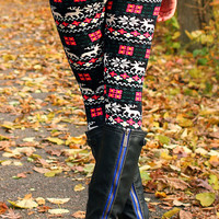 Daisy Holiday Leggings