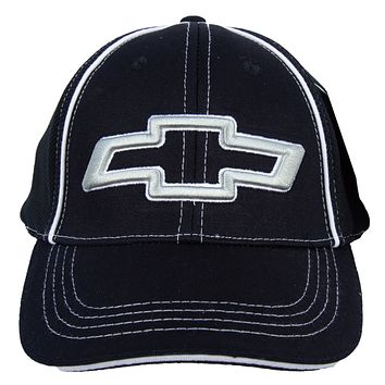 Chevy Bowtie Hat 3D Logo Flexfit Embroidered Cap