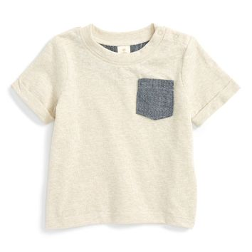 Tucker + Tate Chambray Pocket T-Shirt (Baby Boys) | Nordstrom