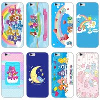 cute Care Bears slim silicone Soft phone case For Huawei P7 P8 P9 P10 P20 pro Lite plus P Smart Mini 2017