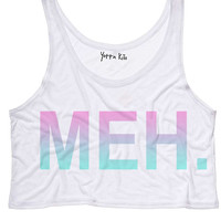 MEH Crop Tank Top