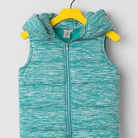 Women's Girls - Heathered Vest in Green by Daytrip.