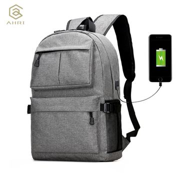 USB Unisex Design Backpack Book Bags for School Backpack Laptop Fashion Man Backpacks