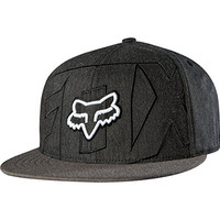 Fox Racing Mens Stockyard 210 Fitted Hat Large/X-Large Heather Black