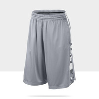 Nike Elite Stripe Men's Basketball Shorts - Wolf Grey