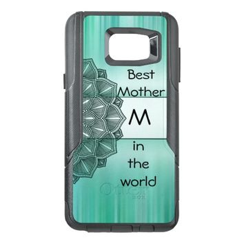 Best Mother in the world Monogram Mandala OtterBox Samsung Note 5 Case