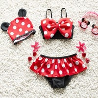 Minnie Mouse Baby Girls Bikini