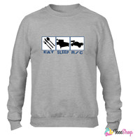 Eat sleep Rc car radio controlled cars_ Crewneck sweatshirtt