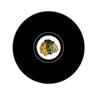 Team Logo Hockey Puck - Chicago Blackhawks