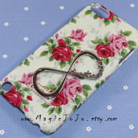 One direction--Flowers iPod touch 4 5 case, Infinity iPod touch 4 5 case,Directioner floral iPod case