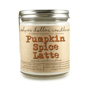 Pumpkin Spice Latte - 8oz Soy Candle