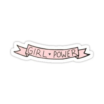 'Girl Power ' Sticker by allimarie0