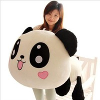 Large Panda Pillow