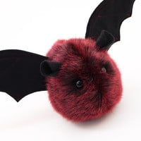 Valentine Stuffed Bat Stuffed Animal Plush Toy Kawaii Plushie Ruby the Red Vampire Bat Snuggly Halloween Gift Small 4x5 Inches