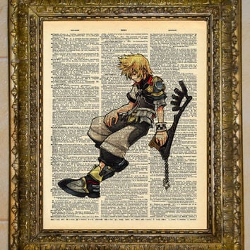 Kingdom Hearts Ventus Keyblade Dictionary Art