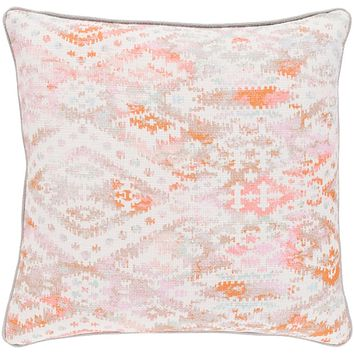 Roxana Pillow Kit - Bright Pink, Pale Pink, Burnt Orange, Camel, Mint - Down - RXA001