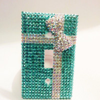 Tiffany Box Bling Light Switch Cover