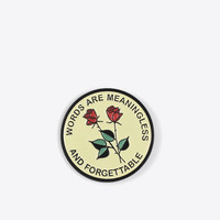 Forgettable Pin
