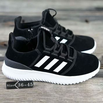 Adidas Neo CLOUDFOAM ULTIMATE Fashion Casual Sport Running Sneakers Shoes Black G-SSRS-CJZX