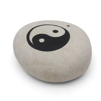 Yin Yang Heavy Stone Incense Holder