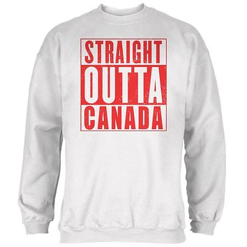 Straight Outta Canada Mens Sweatshirt