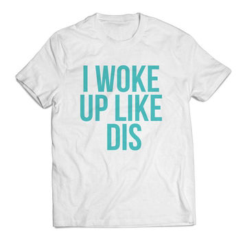 Beyonce I Woke Up Like Dis Flawless mint Clothing T shirt Men