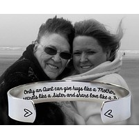 Only an Aunt Bracelet | Gift for Aunt