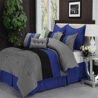 Florence 8-Piece Bed-In-Bag Set