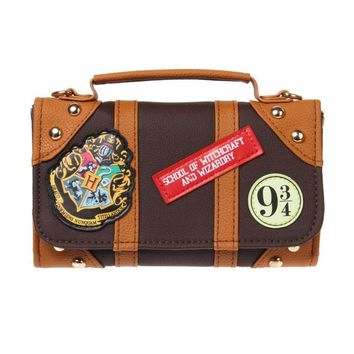 Offical Harry Potter Hogwarts PU Chain Crossbody bag