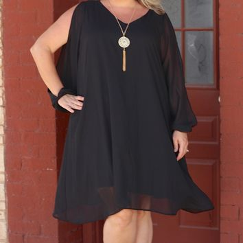 Woman of the Hour Dress ~ Black ~ Sizes 12-18